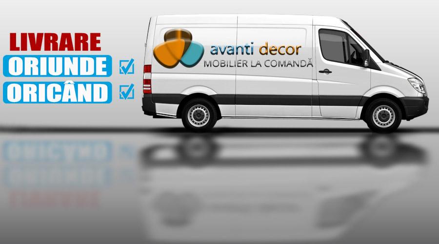 AVANTI DECOR - Transport și montaj la domiciliu